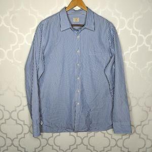 J. Crew Cotton 17-17.5 Button Down Shirt